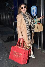 Kelly Brook Arriving at Global Radio in London 12/17/2020