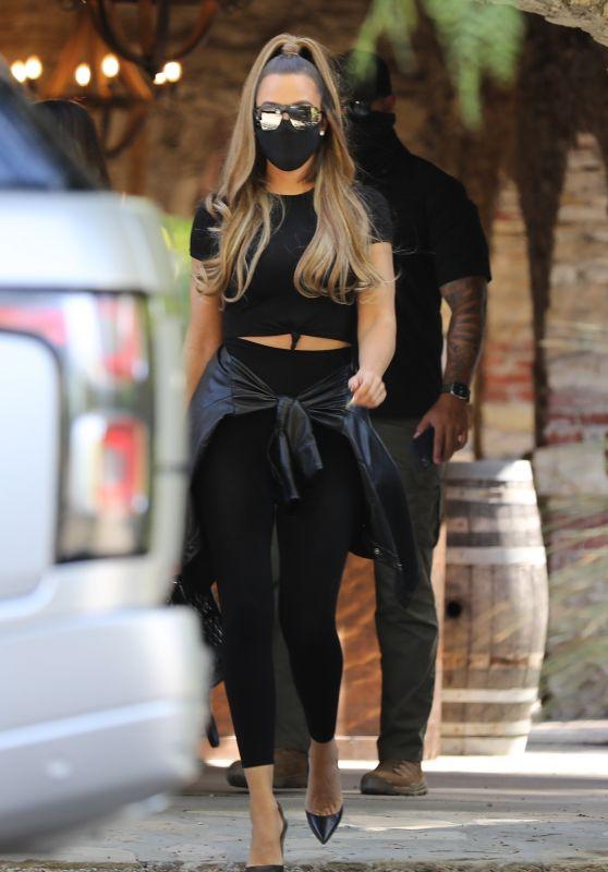 Khloe Kardashian - Out in Malibu 12/12/2020