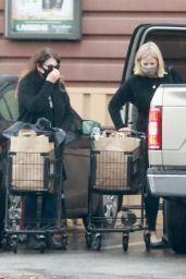 Kristi Hedlund and Kelly Cunningham - Grocery Shopping in Los Feliz 12/28/2020