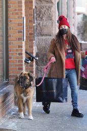 Kyle Richards - Christmas Shopping at Ralph Lauren in Aspen 12/24/2020