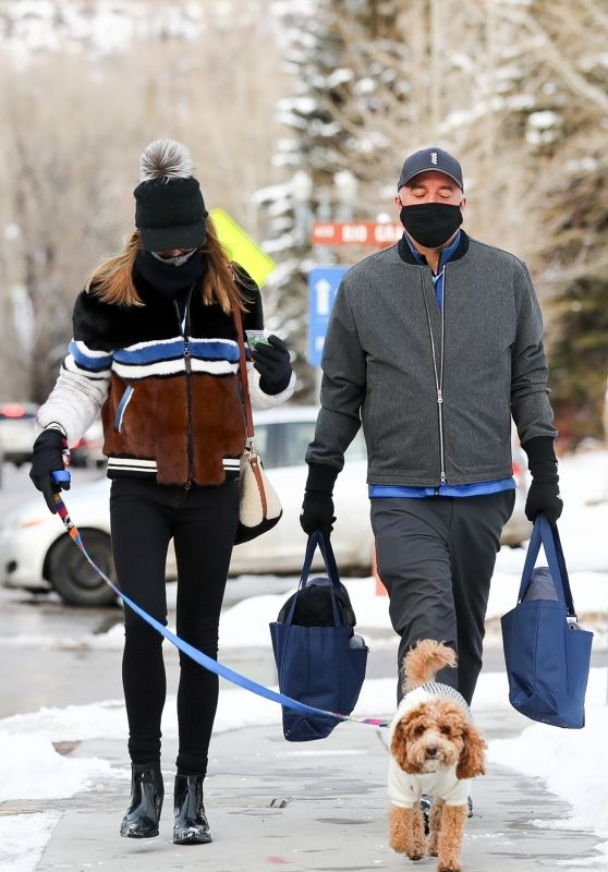 Kylie Lim - Leaves a Polo Game in Aspen 12/19/2020