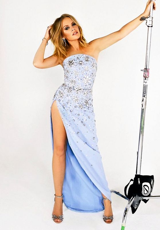 Kylie Minogue - Christmas TV Special Photoshoot 12/15/2020