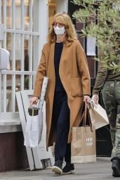 Laura Dern at the Brentwood Country Mart on Christmas Eve 12/24/2020