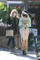 Laura Dern With Her Daughter Jaya Harper in Brentwood 12/26/2020