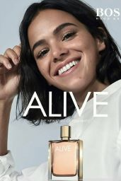 Laura Harrier, Chloe Bennet, Bruna Marquezine and Emma Roberts -The faces of the ALIVE Fragrance by BOSS #FeelALIVE