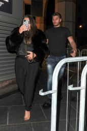 Lauren Goodger Night Out Style - London 12/04/2020