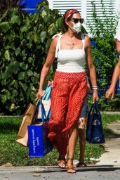 Lauren Silverman - Christmas Shopping Out on Her Holidays in Barbados 12/21/2020
