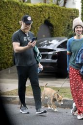 Lena Headey - Leaving a Private Gym in West Hollywood 12/28/2020