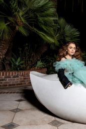 Lily Collins - InStyle December 2020 Photos