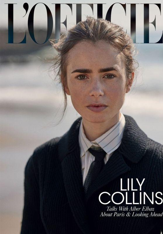 Lily Collins - L
