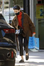Lily Collins - Out in West Hollywood 12/17/2020