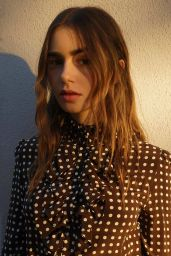 Lily Collins - Photoshoot December 2020
