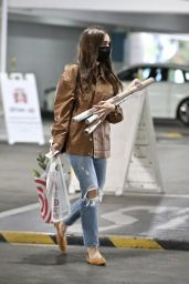Lily Collins - Shopping in West Hollywood 12/11/2020