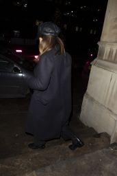 """Lily James - Leaving """"St Lukes"""" Church in Chelsea 12/02/2020"""