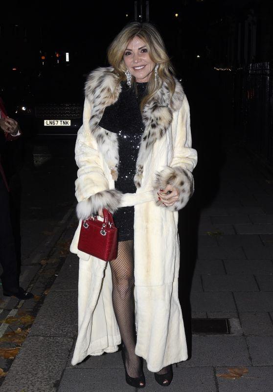 Lisa Tchenguiz at Annabel Club in London 12/12/2020