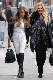 Lizzie Cundy - Out in Knightsbridge 12/14/2020