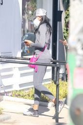 Lori Harvey - Out in Los Angeles 12/09/2020