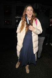 "Lucie Jones – ""A Christmas Carol"" Press Night in London"