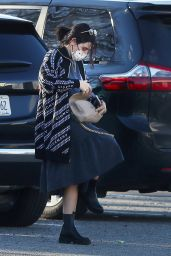 Lucy Hale - Shopping at The Newburgh Vintage Emporium in Newburgh, NY 12/10/2020