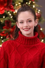 Mackenzie Foy - Hallmark Channel's Home & Family at Universal Studios 11/30/2020