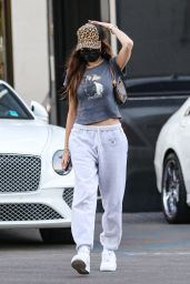 Madison Beer - Christmas Shopping in Beverly Hills 12/21/2020