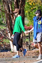 Margaret Qualley - Huntington Gardens in Pasadena 12/22/2020