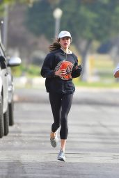 Margaret Qualley - Morning Run in Pasadena 12/23/2020