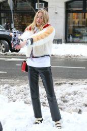 Martha Hunt - Photoshoot in SoHo, NY 12/18/2020