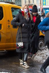 Martha Hunt - Returning to Her Hotel in New York City 12/18/2020