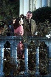 Matilta De Angelis - On the Set Film in Venice 12/22/2020