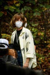 "Maya Hawke - Filming ""Stranger Things"" in Atlanta 12/13/2020"