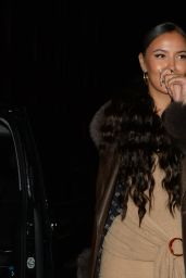 Maya Jama - Out in London 12/08/2020