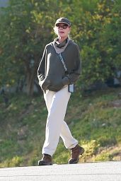 Melanie Griffith - Walk Around Her Neighborhood in Beverly Hills 12/12/2020