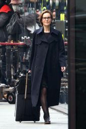 """Michelle Dockery - """"Anatomy of a Scandal"""" Set in Central London 12/12/2020"""