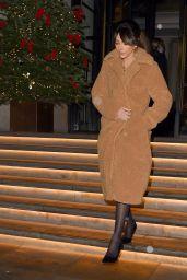 Michelle Keegan - Leaving The Corinthia Hotel in London 12/15/2020