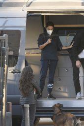 Mila Kunis and Ashton Kutcher - Los Angeles 12/16/2020