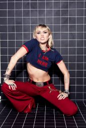 """Miley Cyrus – """"She is Here"""" Photoshoot December 2020"""