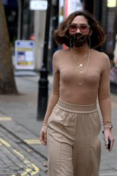Myleene Klass at the Global Radio in London 12/22/2020