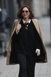 Myleene Klass Looking Chic in Black - London 12/04/2020