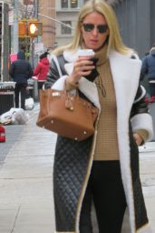 Nicky Hilton Street Style - Soho in New York 12/16/2020