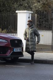 Nicola Adams - Out in London 12/20/2020