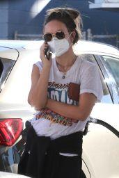 Olivia Wilde - Pumping Gas in Los Angeles 12/21/2020