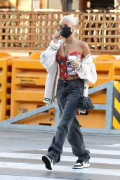 Pia Mia Street Style - Urth Caffe in West Hollywood 12/12/2020