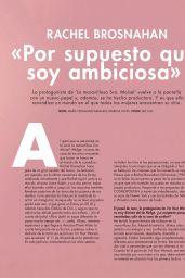 Rachel Brosnahan - Cosmopolitan Spain December 2020 Issue