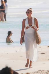 Rachel Hilbert at a Beach in Tulum 11/30/2020