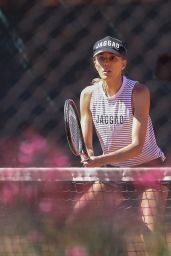 Rebecca Judd - Playing Tennis in Melbourne 12/14/2020
