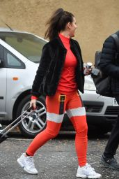 Rebekah Vardy - Arriving for Dancing On Ice Training in Nottingham 12/09/2020