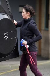 "Rebekah Vardy - Leaves Her ""Dancing On Ice"" Training Session in London 12/08/2020"