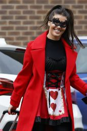 Rebekah Vardy - Out in Manchester 12/10/2020