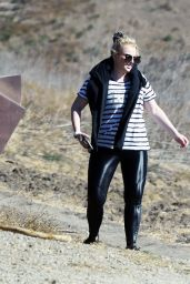 Rebel Wilson and Jacob Busch Going For a Hike in LA 12/15/2020